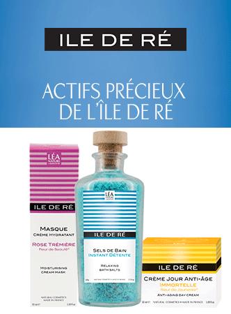 ILE DE RÉ®, marque de cosmétiques naturels du Laboratoire LÉA NATURE