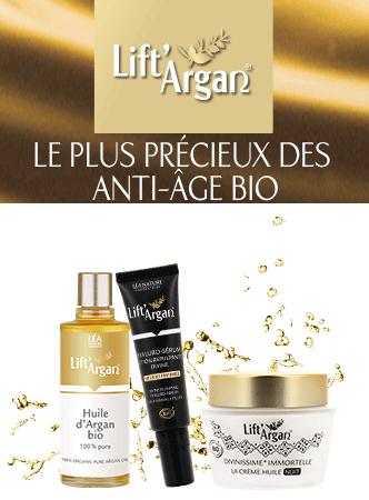 Lift'argan, une marque du laboratoire LÉA NATURE