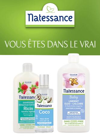 Natessance, une marque du Laboratoire Léa Nature