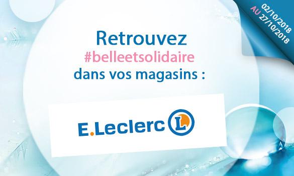 Bons plans Belle et Solidaire chez Leclerc