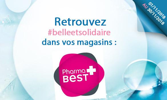 Offres Belle et Solidaire dans vos magasins Pharma Best