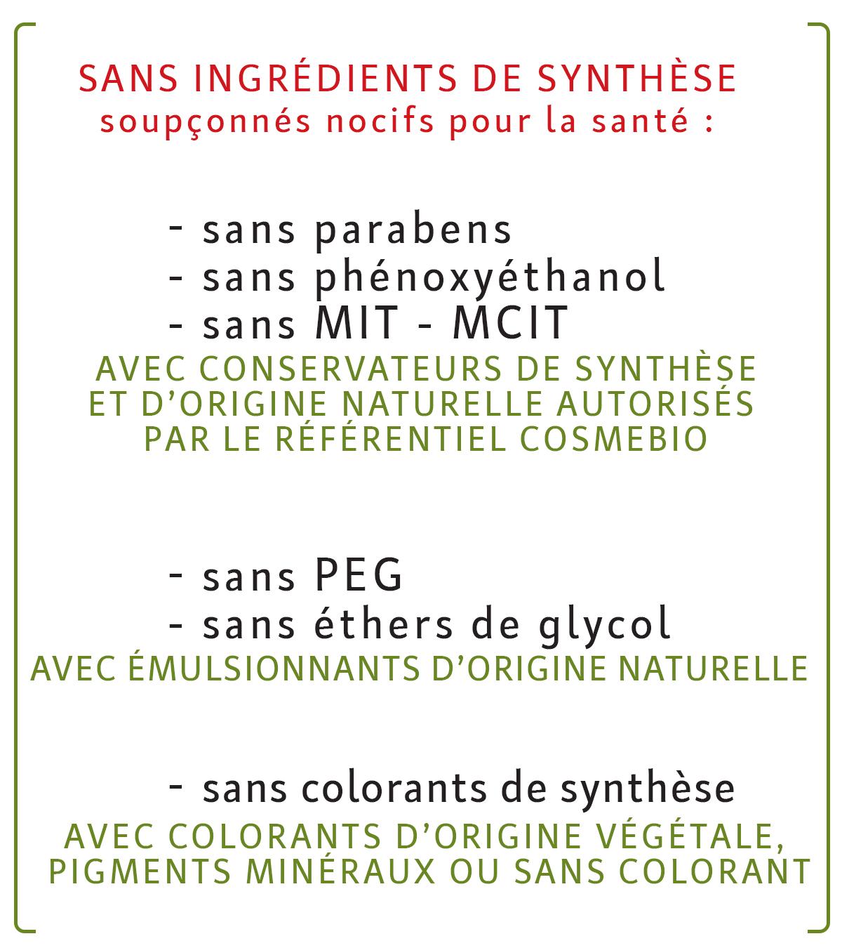 Laboratoire LÉA NATURE, sans ingrédients de synthèse