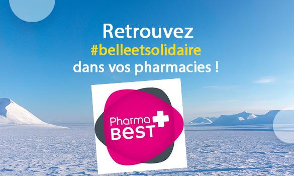 Belle et Solidaire dans vos pharmacies Pharmabest