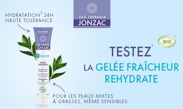 La gelée fraicheur Rehydrate Eau Thermale Jonzac