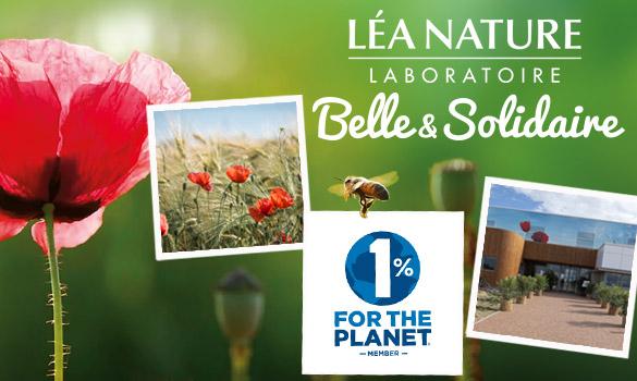 Léa Nature, engagée avec Belle et Solidaire