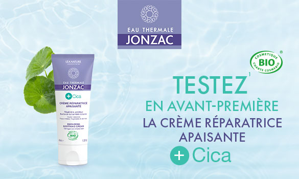 Test de la crème réparatrice apaisante +Cica